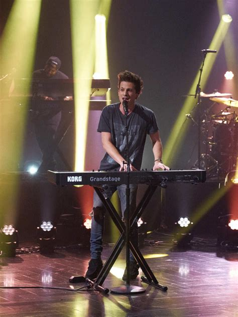 charlie puth james corden first look charlie puth performs on quot late late show with