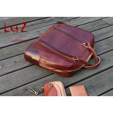 Leather Handcraft - bag patterns brifecase patterns pdf bdq 34 lzpattern