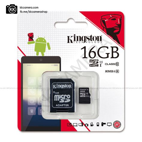Kingston Microsd 16gb Class 10 เมม kingston micro sd 16gb class 10 2 ของแท kk