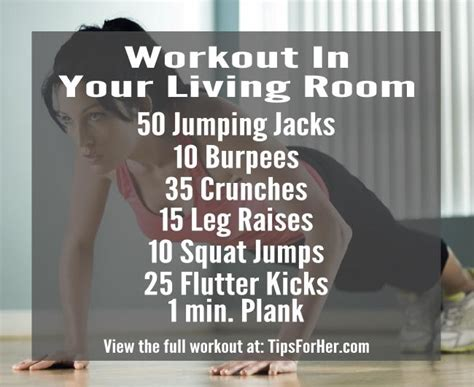 Living Room Workouts Workout In Your Living Room
