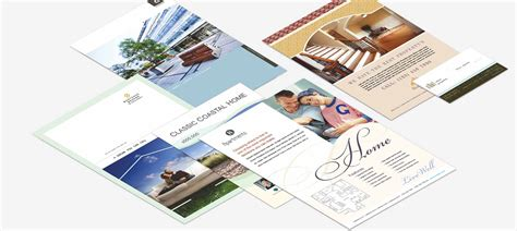 real estate brochure design templates real estate brochure templates 6 best agenda