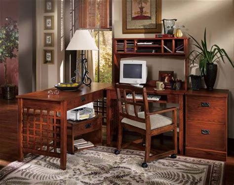 mission style home office furniture mission style decorating idea homesfeed