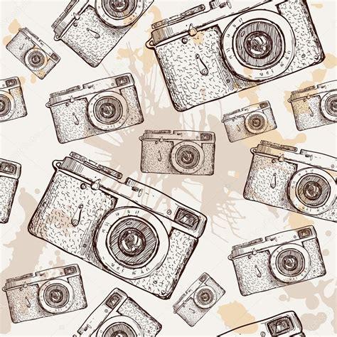 camera vector wallpaper camera seamless pattern stock vector 169 iriskana 36833193