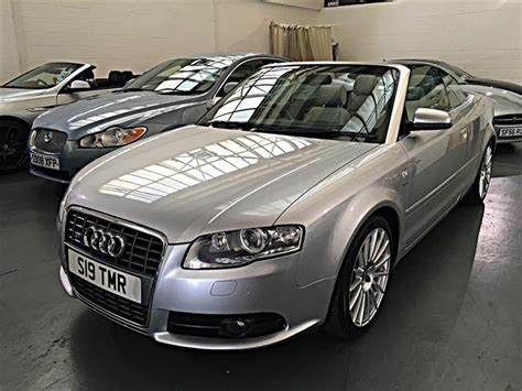 2007 Audi S4 Convertible For Sale Classic Audi S4 Cabriolet 4 2 Convertible 2dr Petrol Ti