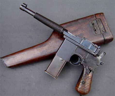 c96 broomhandle mauser unusual firearms broom handle guns and weapons