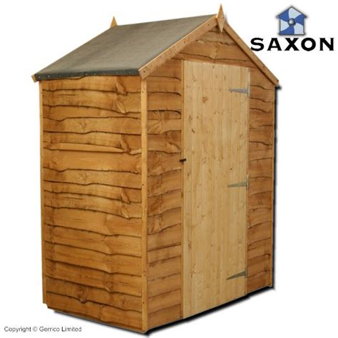Shed 3x5 by Saxon Waney Edge Apex Shed 3x5 Overlap