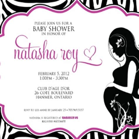 baby shower invitations for girls free template best
