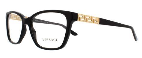 versace eyeglasses ve3192b gb1 black 54mm ebay