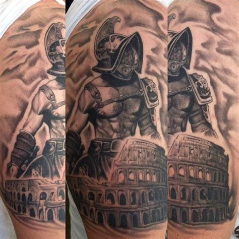 ancient roman tattoos designs 50 gladiator ideas for hitheaters and armor
