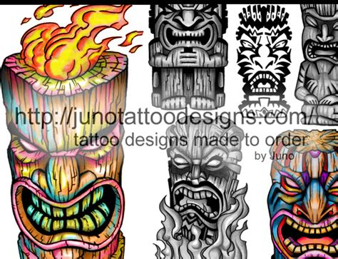 polynesian tiki tattoo designs polynesian tattoos meaning how to create yours