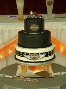Motorcycle Decorations Harley Davidson Wedding Cakes Wedding Ideas