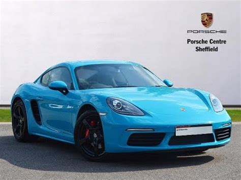 miami blue porsche 718 porsche 718 cayman s in miami blue sold