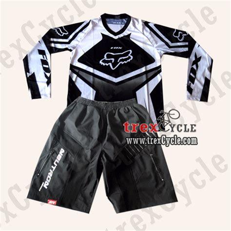 Celana Sepeda Mtb Dh Dengan Padding toko baju jersey sepeda jual jersey downhill fox dan