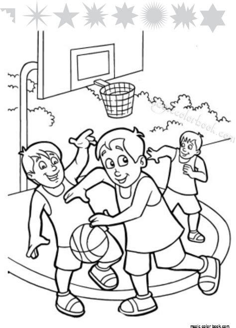 basketball game coloring pages basketball coloring page pertamini co