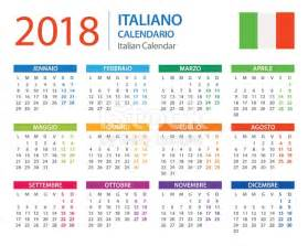 Jamaica Kalender 2018 Calendar 2018 Italian Version Stock Vector 672016732