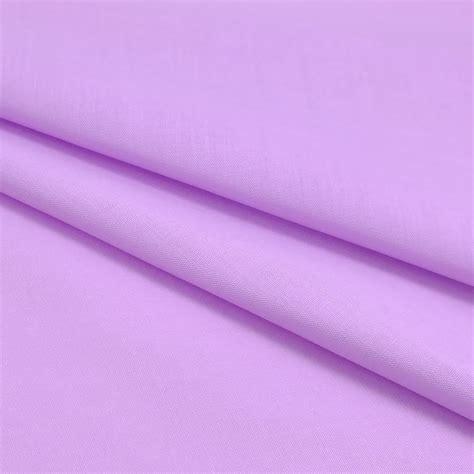 Plain Polycotton 1 plain polycotton fabric 112cm width new lilac 1 metre