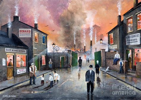 Traditional English Home Decor Images Of The Black Country Painting By Ken Wood