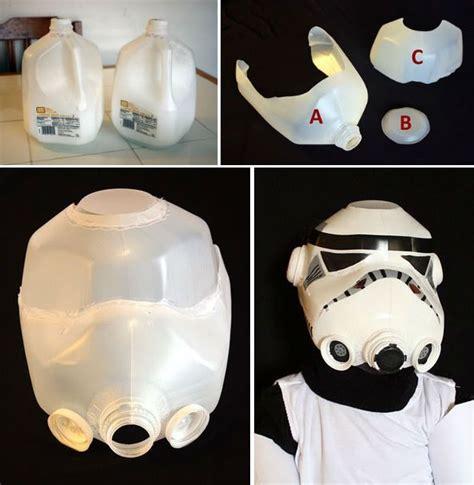 How To Make A Paper Stormtrooper Helmet - best 25 milk jug crafts ideas on