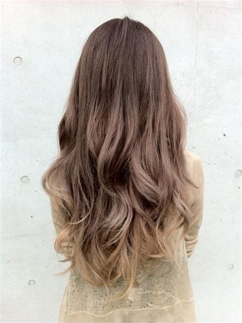 pictures of brown and blode ombre hair wavy brown to blonde ombre hairstyles for long hair