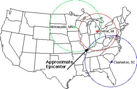 how do i locate that earthquake's epicenter?