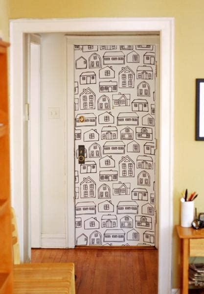 creative interior door decoration ideas personalizing