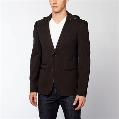 Blazer Hoodie 9301 Black 67 shoreditch a new spin on suiting touch of modern