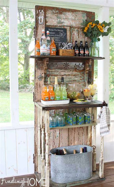diy backyard bar 26 inventive and low budget diy outside bar ideas