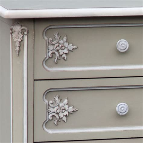 Grey Chest Of Drawers Uk by Charmont Gris Grey 3 Drawer Chest Of Drawers