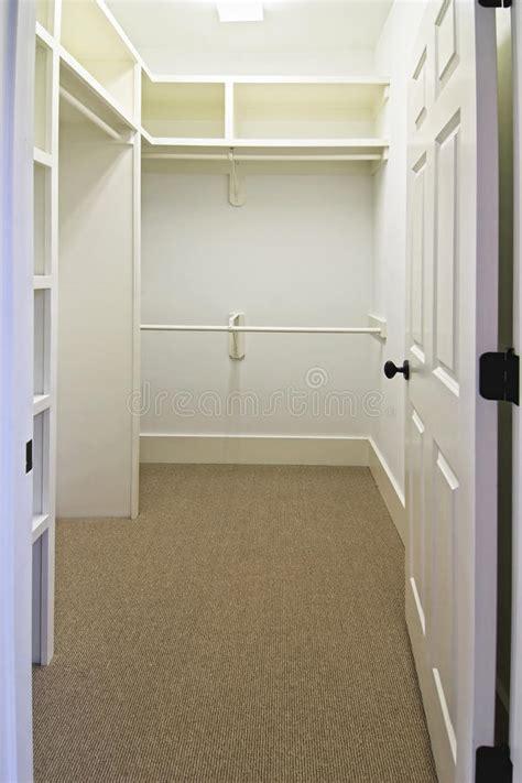 large empty walk  closet stock photo image  closet