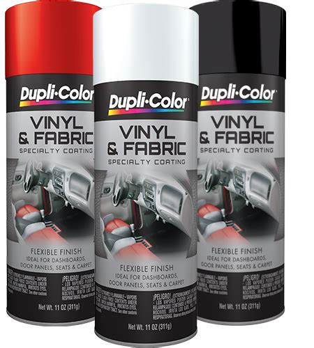 vinyl fabric coating aerosol dupli color