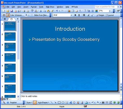 Reuse Slides In Powerpoint 2003 For Windows Powerpoint 2003 Templates
