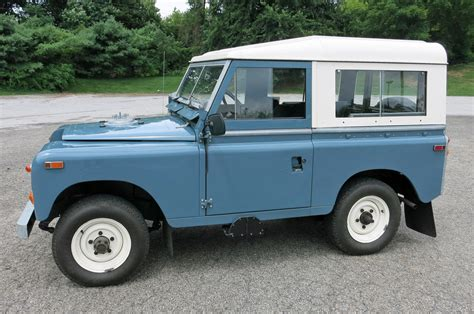 land rover 1970 1970 land rover series iia connors motorcar company