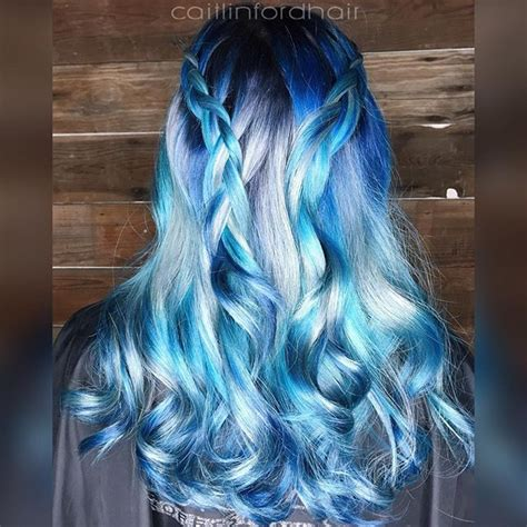 silver blue color 25 best ideas about silver hair colors on