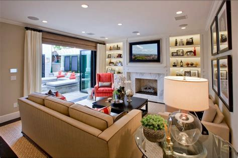 furniture arrangement tv fireplace home spaces