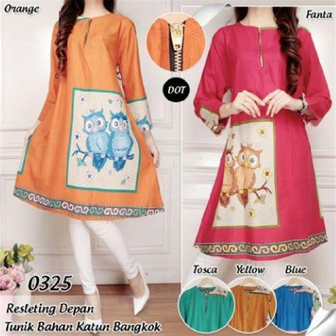 Supplier Baju Shaby Tunik Bangkok supplier baju atasan katun bangkok murah model terbaru 2016 butik gamis cantik