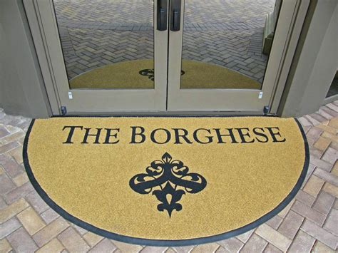 personalized rugs for business custom business floor mats add pizzazz to the workplace