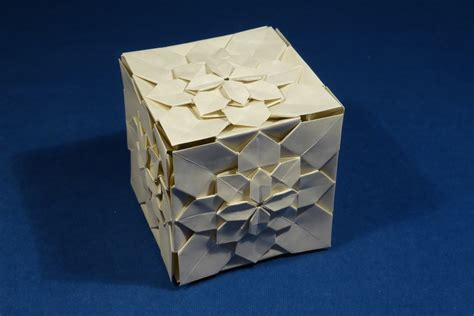 Modular Box Origami - origami modular origami the ancient of kusudama