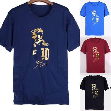 Tshirt Barcelona 13 s sleeve t shirt lionel messi figure autograph barcelona c nou chion jersey