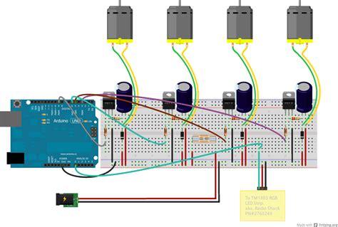 pwm fan controller automatic 4 channel pwm pc fan controller arduino led