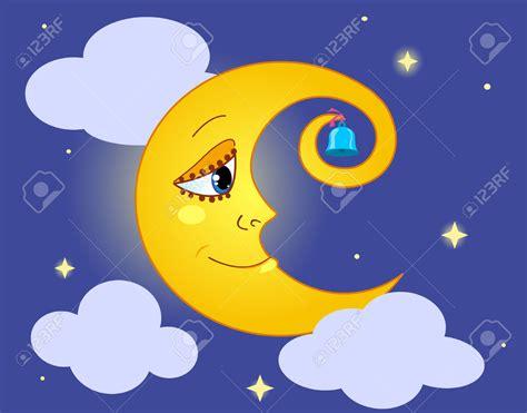 imagenes de sol y luna animadas animated half moon