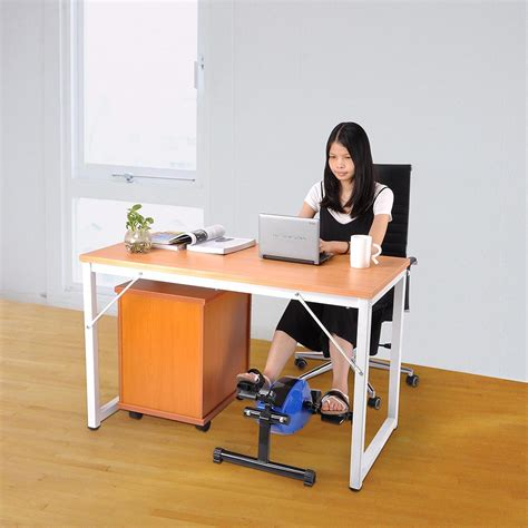 office desk exercise equipment mini magnetic pedal exerciser under desk bike legs workout