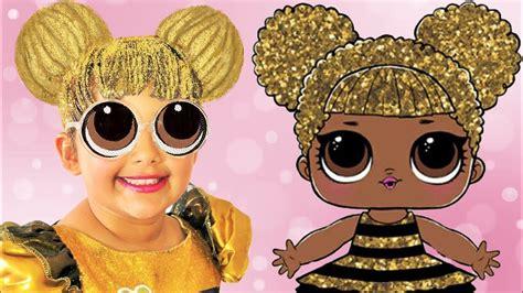 lol surprise queen bee makeup halloween costumes