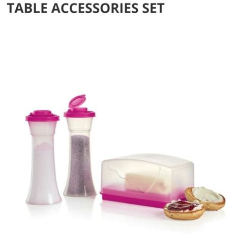 tupperware table accessories set tupperware salt and pepper shakers for sale classifieds