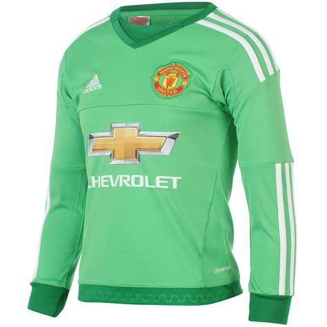 Jersey Manchester United Goalkeeper 2015 16 Hijau 1 adidas manchester united goalkeeper home jersey 2015 2016