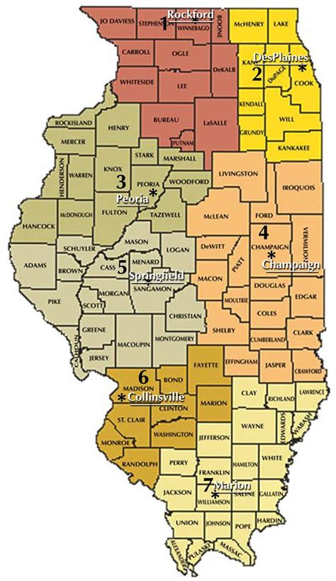 Northern District Of Illinois Search Land And Water Pollution Regional Offices