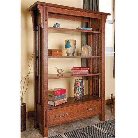 Arts Crafts Bookcase pdf woodwork arts and crafts bookcase plans diy plans the faster easier way to