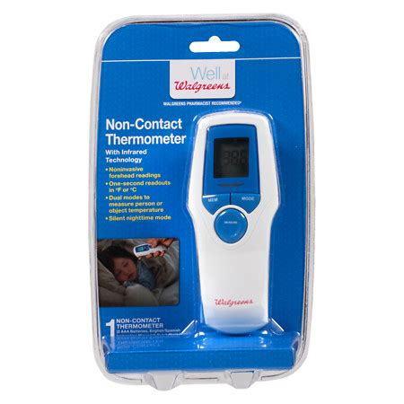 Thermometer Non Contact walgreens non contact thermometer walgreens