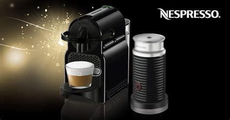 Nespresso Gift Card Discount - receive 120 discount off nespresso inissia aeroccino3 milk frother bundle festive