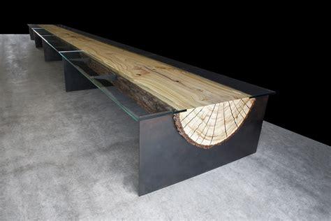Feng Shui Kitchen Design by Baumstammtisch Infinity Wohnung Einrichten Org