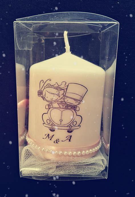 matrimonio candele candele personalizzate per matrimonio con grafica a scelta
